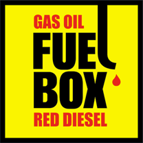 Gas Oil Fuel Box Red Diesel