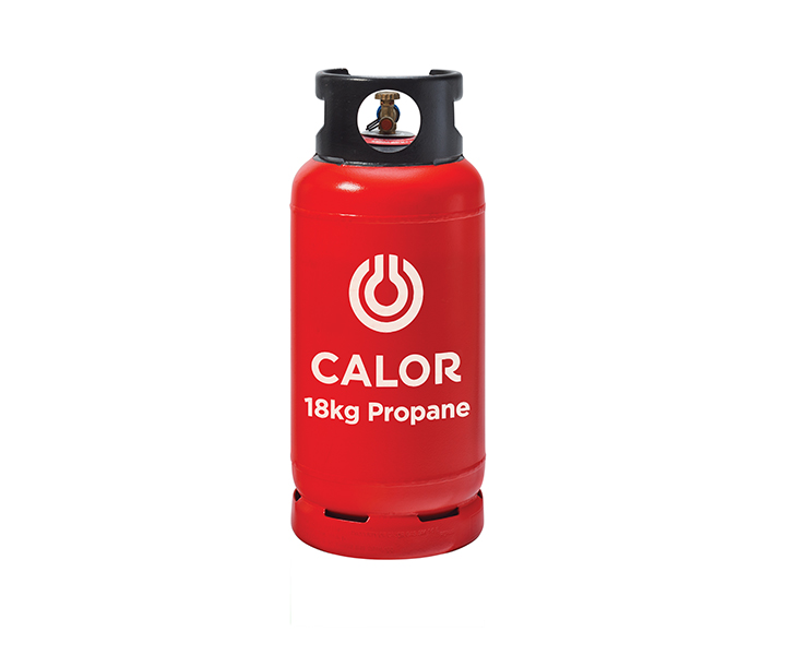 Calor Gas 18kg Propane cylinder (to suit forklift) EXCHANGE ONLY